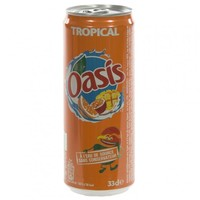 Oasis Beverage - Tropical 24x33cl CAN