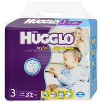 jumbo Pack 100 pcs Mini Size Hugglo Baby Disposable Diapers bag from Turkish Factory