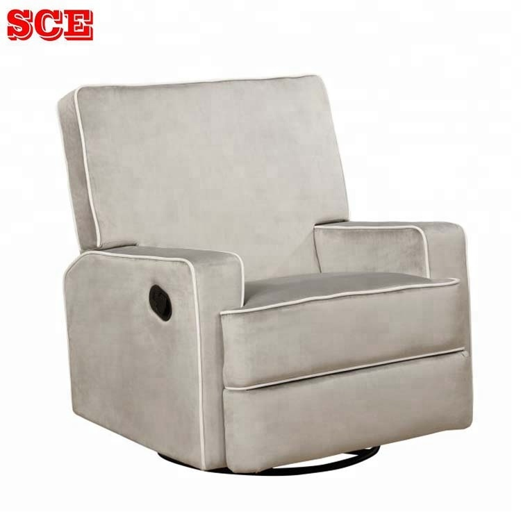 Magnificent Swivel Glider Recliner Sofa Chair Buy Single Sofa Chair Recliner Chair Swivel Rocker Recliner Chair Product On Alibaba Com Ibusinesslaw Wood Chair Design Ideas Ibusinesslaworg