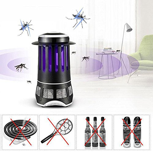 220-240V Mosquito Killer Lamp, Safety UV Electric Photocatalyst Insect Killer, Fly Pest Repeller Control Lamp for Outdoor Indoor
