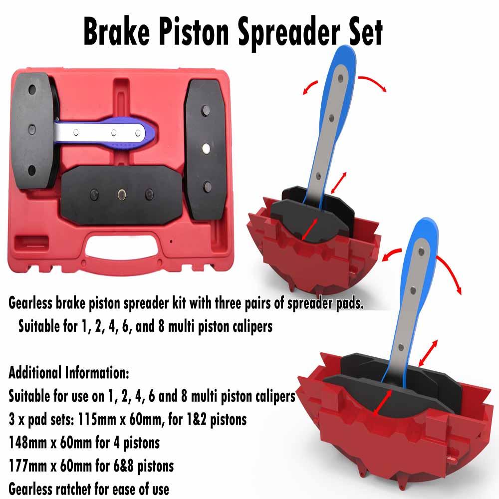 Ratchet Disc Brake Caliper Brake Spreader Kit - Buy High Quality Disc  Machine Pad Caliper Brake,Piston Brake Caliper Tool Spreader With  Taiwan,Car