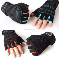 Weight lifting Gym Gloves Fitness Training Wrist Wrap Workout Exercise Sport