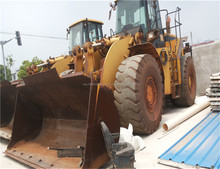 Used caterpillar front loader 980G/ original japan condition loader 980g, new model new tyre,3306 engine