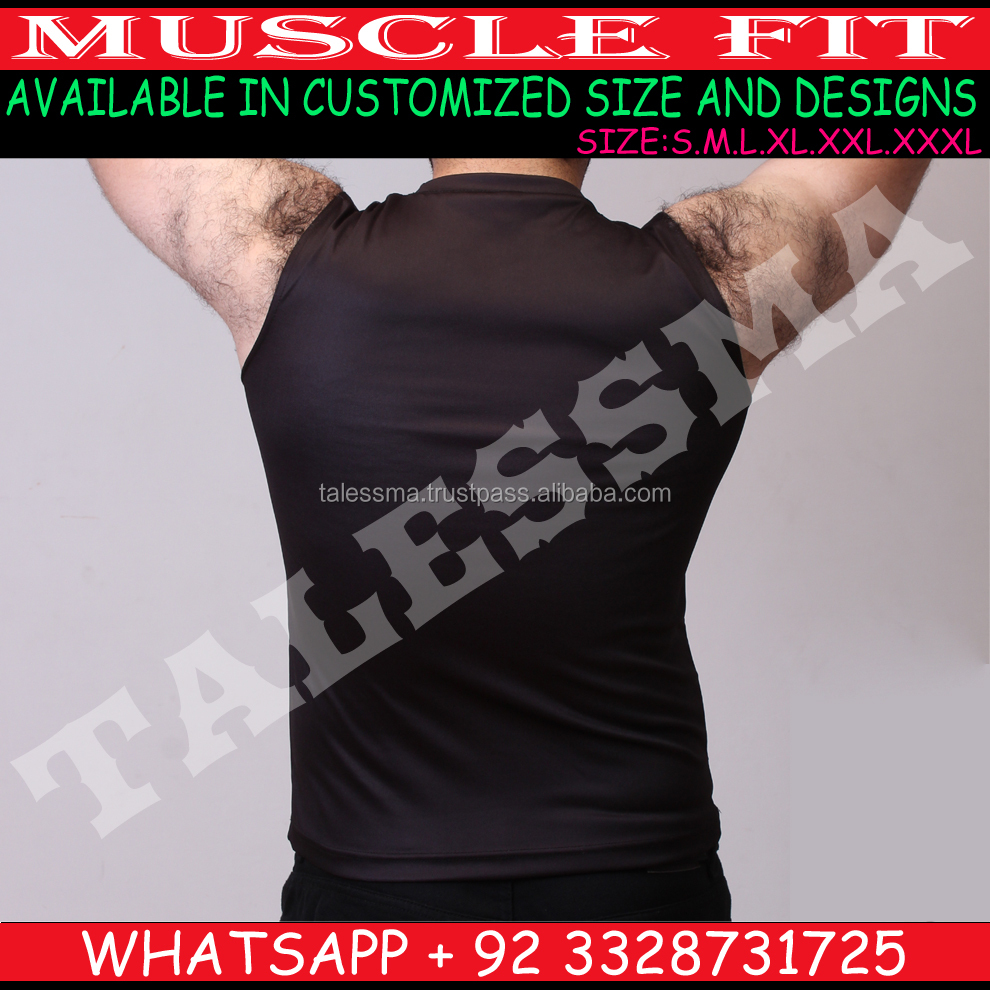 Cut off t shirt für männer bodybuilding OEM fitness weste workout muscle tank