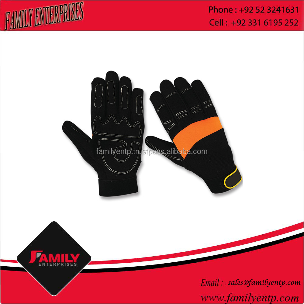 Good Quality Buffaclo Grain Anti Sweat Machanical Gloves