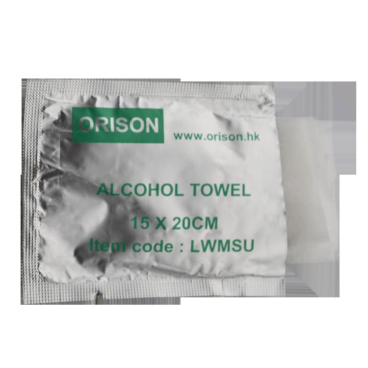 Isopropyl Alcohol Khăn Lau, Ipa 70% Rượu Khăn Lau, Riêng Gói Rượu Pad