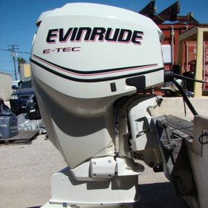 New Evinrude 115 HP 4 Stroke outboard Motor Engine