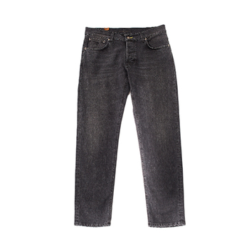 100% made in Italy slim fit washed men's jeans