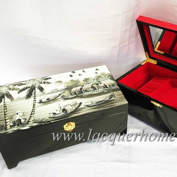 Custom size and logo gift box for jewelry