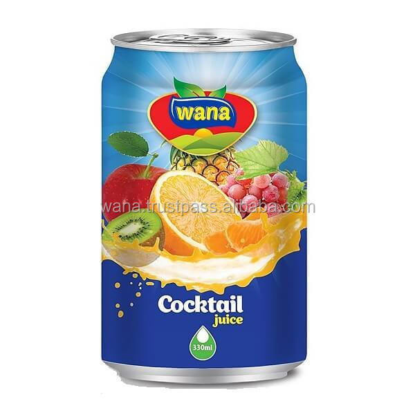 Small Fruit Juice Factory Cocktail Drink In 330ml Can