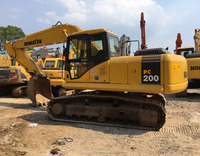 Good Quality Used Komatsu Excavator PC200 for sale / Komatsu Excavator with low price