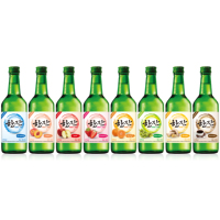 Han Jan, Soju, Fruit-flavored Korean wine, 375ml