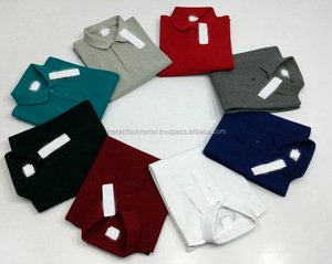 New Design Cheap Price Factory Made 100% cotton Pique Polo T shirt.