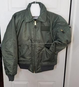 f8a4b658905 Men s American Nylon Bomber Jacket Army Green Flight Bomber Vintage Style  Nylon MA-1