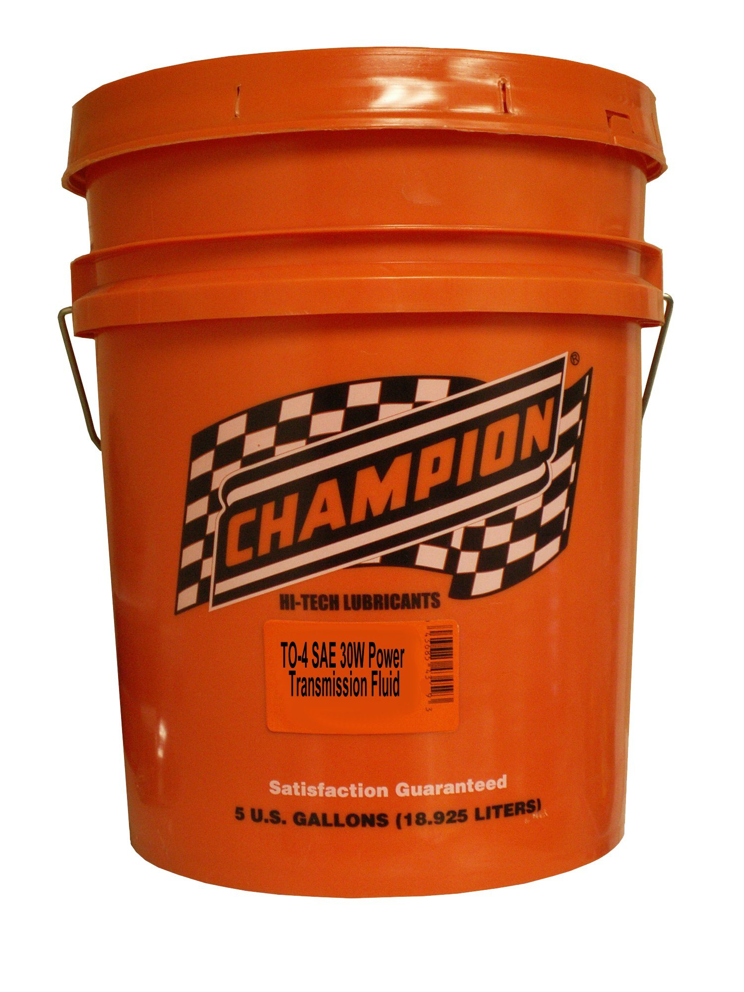 Champion Brands 4345D TO-4 SAE 30W Power Transmission Fluid - 5 Gallon