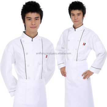 Restaurant chef-koks uniform voor mannen