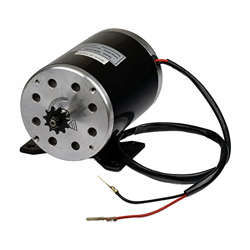 Alvey 36 Volt 1000 Watt MY1020 Electric Motor with 11 Tooth 8 mm 05T Chain Sprocket & Bracket