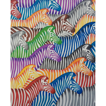 Home Decor Modern Canvas Indonesia Wall Art Decoration Abstract Rainbow Color Zebra Oil Painting  sc 1 st  Alibaba & Home Decor Modern Canvas Indonesia Wall Art Decoration Abstract ...