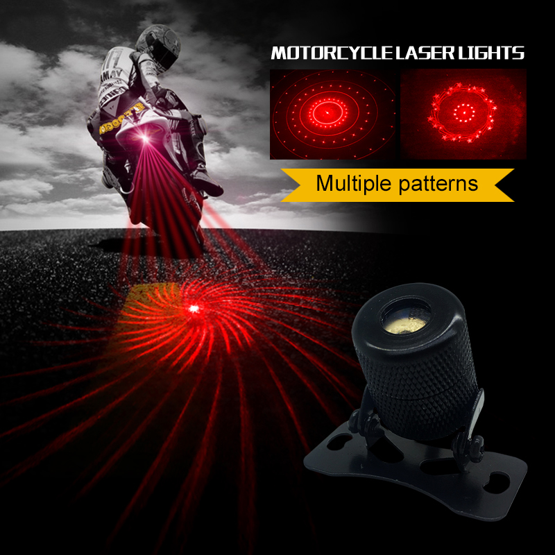 2019 Auto Car Laser Signal Lamp Rear Anti-Collision Taillight Warming Fog Light Car laser fog bulb 6 images