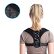2018 factory hot sale leather back posture corrector corrective therapy back brace for unisex