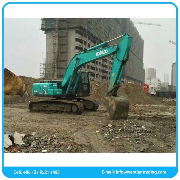 Official manufacturing kobelco sk200 used excavator