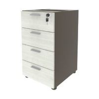 4 Drawer File Cabinets Office Undermount Mobile Pedestal