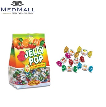 Jelly Pop Sweet Soft Candy Strawberry / Cherry / Peach / Orange / Tangerine  / Lemon Taste - 4 Pack X 3kg - Buy Candies,Candy,Candies And Sweets