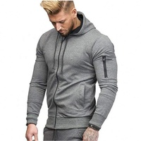 Mens Winter Sport hoodie and Pants Gym Hoodie Zipper