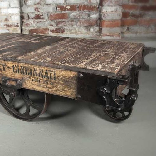 Vintage Coffee Table With Wheels Furniture Product On Alibaba