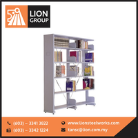 Best Quality Library & Book Shelving System Office cabinet steel racks malaysia furniture
