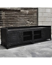 TV Industri Berdiri TV <span class=keywords><strong>Unit</strong></span> <span class=keywords><strong>Furniture</strong></span> Hitam TV Cabinet