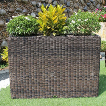 Garden Planters Rattan on home depot planters, vintage planters, white watering can planters, stone planters, black planters, mahogany planters, cache pots and planters, granite planters, wicker looking planters, willow planters, large square planters, portable bag planters,