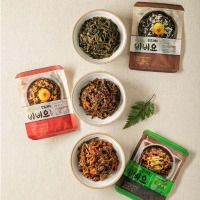 Savory taste seasoned thistle for Bibimbap korean food bibimbap taste food spicy honey savory vegetable food