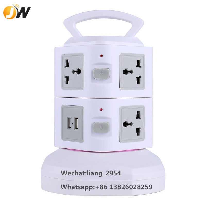 Battery Powered Outlet >> Usb Tower Power Socket Individual Switches Universal Outlet Battery Powered Plug Socket Electrical Appliances Buy Tower Power Socket Individual