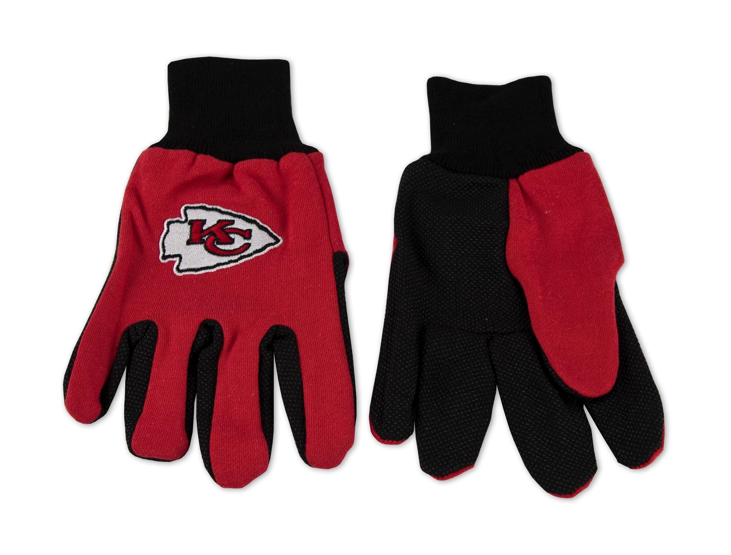 Kansas City Chiefs Two-Tone Gloves