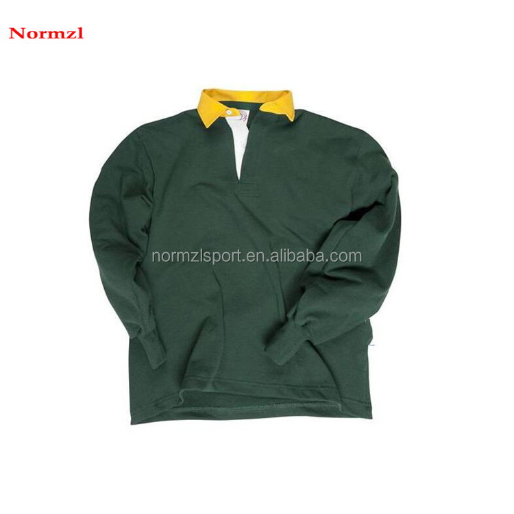 2019 new arrival men high quality stripe rugby jersey wholesale team wear
