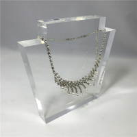Custom made countertop acrylic jewelry necklace display bust manufacturer wholesale