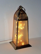 Moroccan table lanterns with led