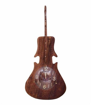 Wooden Handmade Guitar Shape Wall Clockhand Carved Guitar Shape Wall Clocks Buy Wooden Pendulum Wall Clocksantique Pendulum Wall Clocksquare Wood
