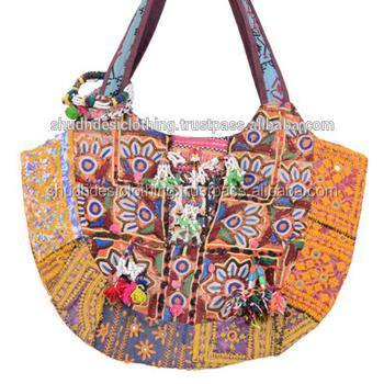 07761be43e5 Handmade Embroidery Work Banajara Bags For Ladies Manufacturer In Jaipur -  Buy Embroidered Wrok Handmade Banjaras Bags,Latest Designer Gujrati Ladies  ...