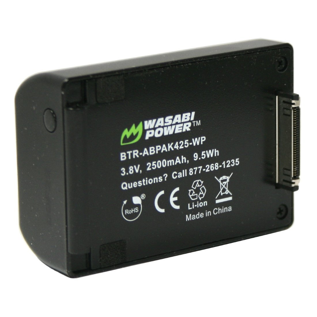 Wasabi Power Extended Battery for GoPro HERO4, HERO3+, HERO3 (2500mAh)