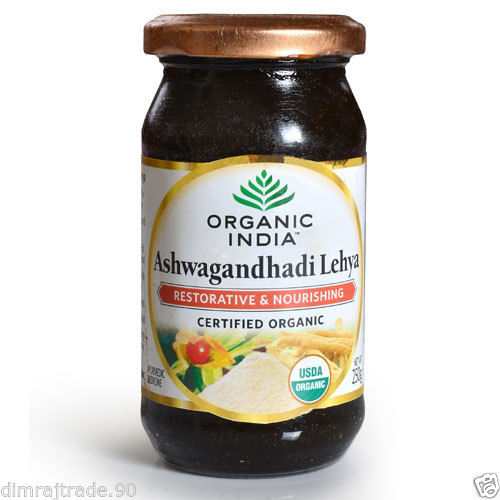 Organic India Organic Ashwagandhadhi Lehya 250 Grm Indian Herbal product