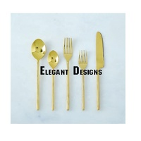 gold plated cutlery for kitchen use