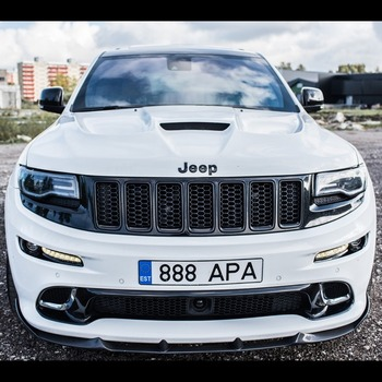 "Jeep Grand Cherokee SRT 2011-2017 custom hood ""Renegade-Design"" Tyrannos ver. 2"