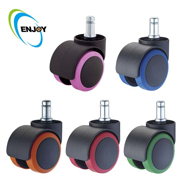 ENJOY Caster Roller Wheels for Yoga Balance Ball Chair
