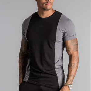 Hot sale Custom Fashion Design Cut & Sew Panel T Shirt