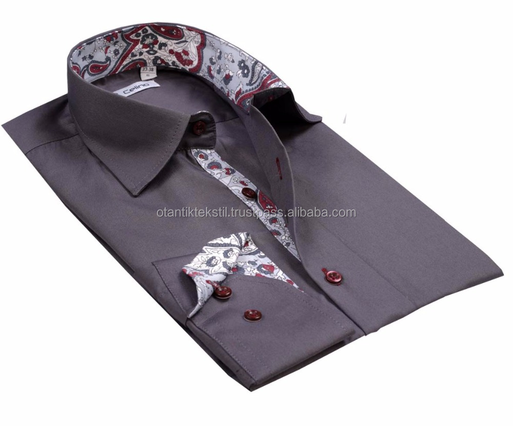 Whitekirbiyik Special Designdress Shirt Slim Fit Shirtslim Fit