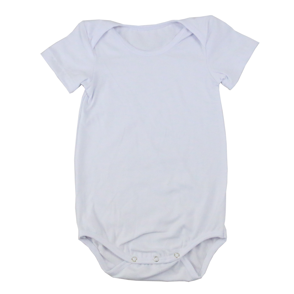 2017 plain boys clothing blank baby onesie short sleeves