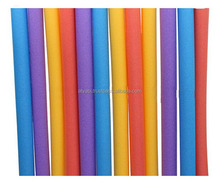Dipping Pool Noodle Vinyl Coated Foam Water Pool Floats Noodles Swimming as Water Entertainment Equipment
