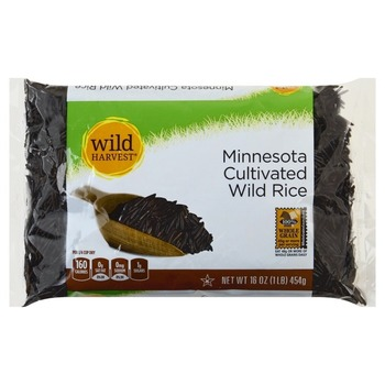 Wild Harvest Minnesota Cultivated Wild Rice Bag 1 lbs